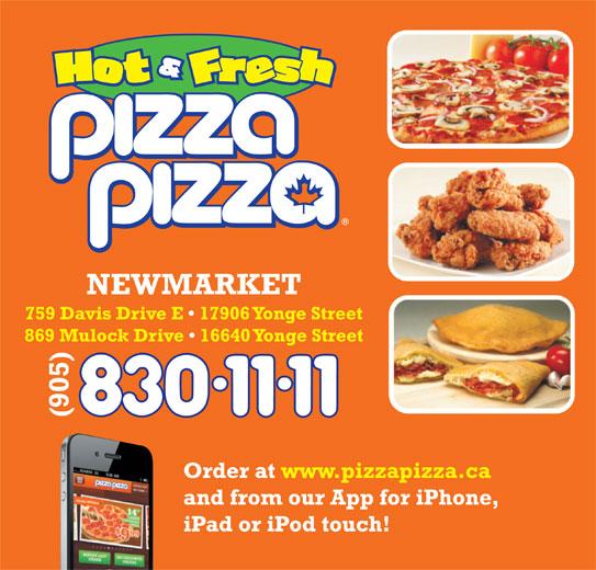 Pizza Pizza (905-830-1111) - Annonce illustrée======= -