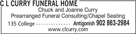 Ads C L Curry Funeral Home