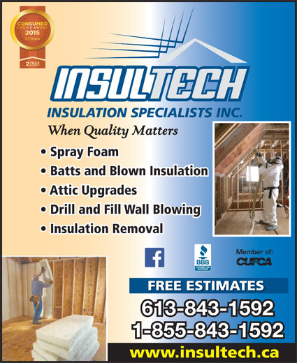 Insultech Insulation Specialists Inc Opening Hours 1