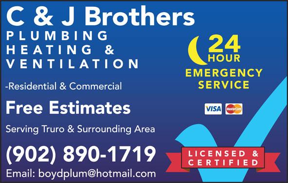 C J Brothers Plumbing Heating Ventilation Inc 1296