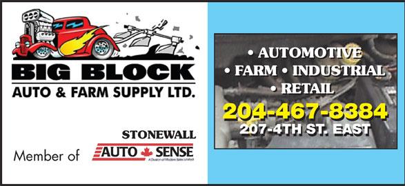 Big Block Auto & Farm Ltd (204-467-8384) - Display Ad -
