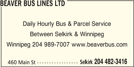 Ads Beaver Bus Lines Ltd