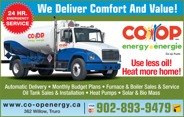 Co Op Fuels 362 Willow St Truro Ns