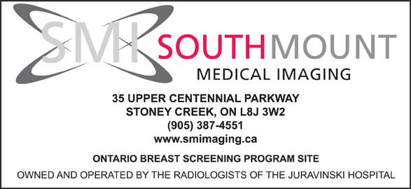 SouthMount Medical Imaging (905-387-4551) - Display Ad - SOUTH MOUNT SMI MEDICAL IMAGING
