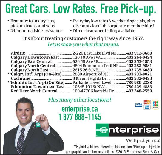 Enterprise Rent A Car Sherbrooke