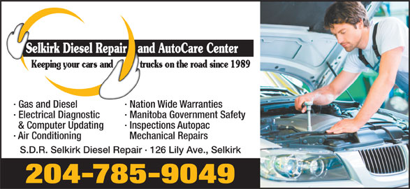 Selkirk Diesel Repair Auto Care Center 126 Lily Ave Rr Make Your Own Beautiful  HD Wallpapers, Images Over 1000+ [ralydesign.ml]