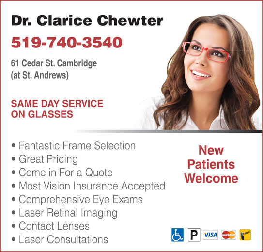Chewter Clarice Dr (519-740-3540) - Display Ad -