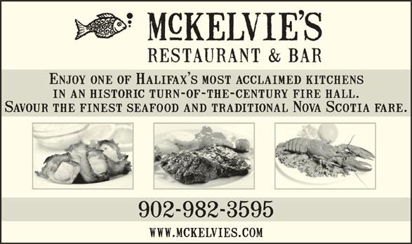 McKelvie's Delishes Fishes Dishes (902-421-6161) - Annonce illustrée======= -
