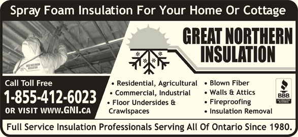 Great Northern Insulation (1-855-412-2603) - Display Ad - 1-855-412-6023