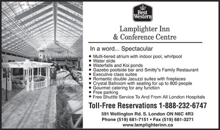 Lamplighter Inn (519-681-7151) - Display Ad