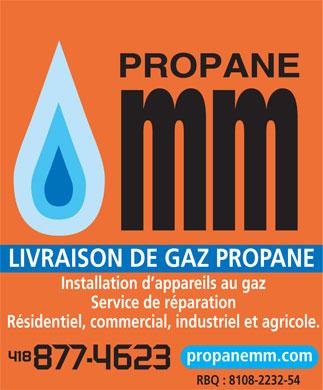 Propane m m 1217 av robert l s guin qu bec qc for Chauffe piscine au gaz propane