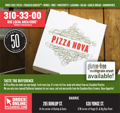 Pizza Nova (416-439-0000) - Display Ad