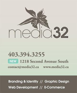 Media 32 (403-394-3255) - Display Ad