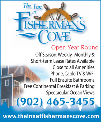 The Inn At Fisherman's Cove (902-465-3455) - Annonce illustrée
