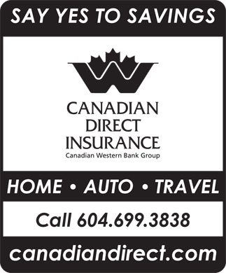 Canadian Direct Insurance (604-699-3838) - Annonce illustrée