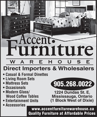 Accent Furniture Warehouse Mississauga