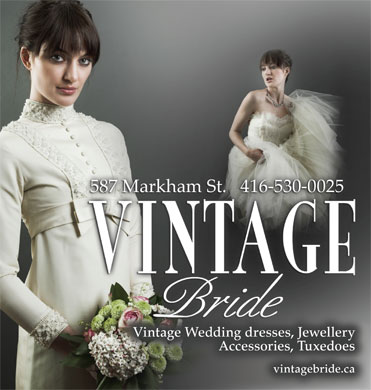 Vintage Bride (416-818-1104) - Display Ad