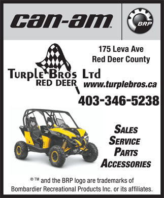 Turple Bros Ltd (403-406-0523) - Display Ad