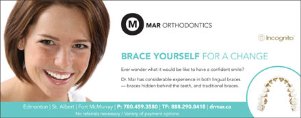 Mar Orthodontics (780-458-4169) - Annonce illustr&eacute;e