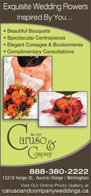 Caruso & Company (905-727-6441) - Display Ad