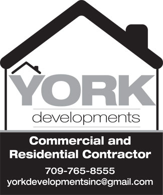 York Developments (709-765-8555) - Annonce illustrée
