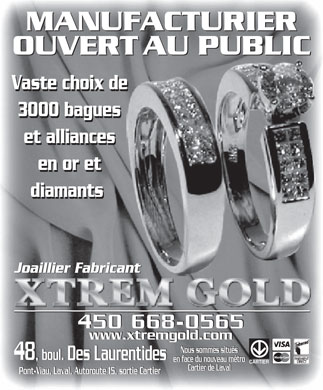 Xtrem Gold (450-668-0565) - Display Ad