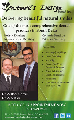 Nature's Design Dental Spa (604-943-2291) - Annonce illustrée