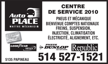 Auto Place (514-527-1521) - Display Ad