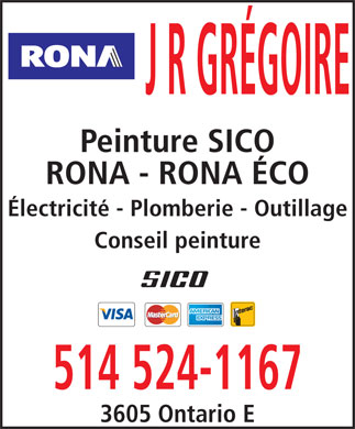 Rona Quincaillerie (514-524-1167) - Display Ad
