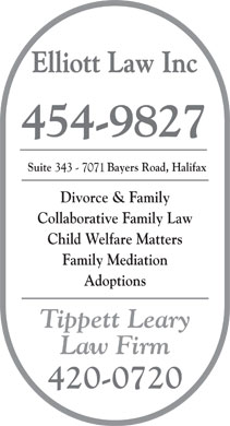 Elliott Law Inc (902-454-9827) - Display Ad