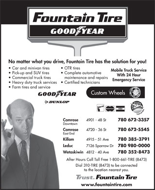 Fountain Tire (310-8473) - Display Ad