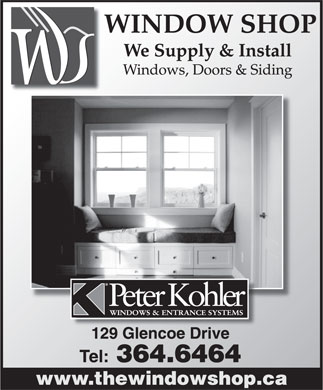 The Window Shop (709-364-6464) - Display Ad