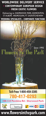 Flowers In The Park (780-410-8991) - Annonce illustrée