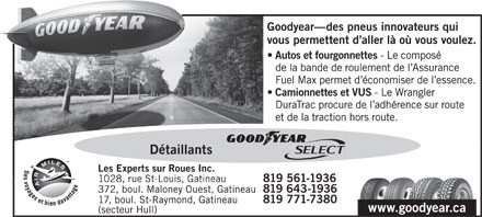 Goodyear (819-561-1936) - Display Ad