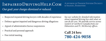 Dawson Stevens Duckett & Shaigec Barristers (780-425-0172) - Display Ad