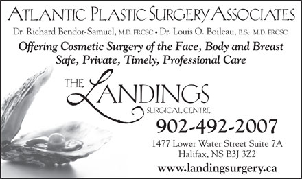 Landings Surgical Centre The (902-704-2969) - Annonce illustrée