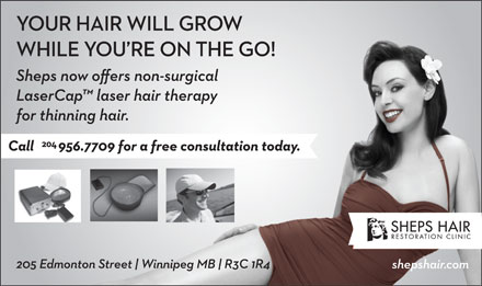 The Sheps Hair Transplant Clinic (204-956-7709) - Annonce illustrée