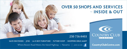 Country Club Centre (250-758-1102) - Display Ad - 250 756-8403 250 756-8403