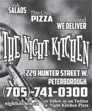 The Night Kitchen (705-741-0300) - Annonce illustrée