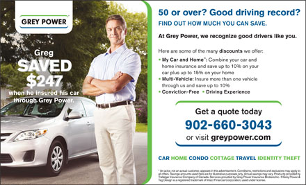 Grey Power (902-660-3043) - Display Ad