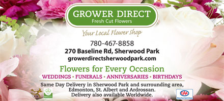 Grower Direct Fresh Cut Flowers (780-467-8858) - Annonce illustrée
