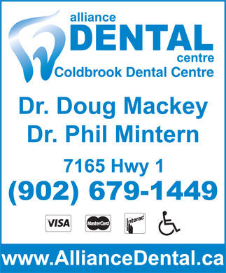 Alliance Dental (902-679-1449) - Display Ad