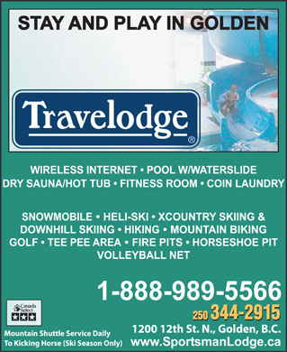 Travelodge (250-344-2915) - Display Ad