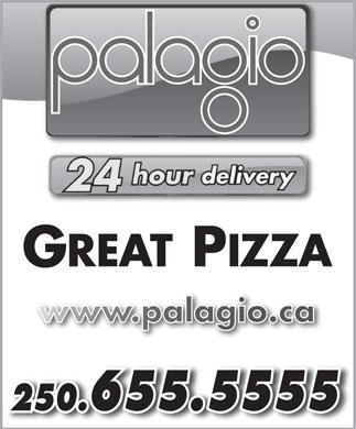 Palagio (250-655-5555) - Display Ad