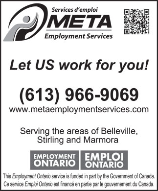 Meta Employment Services (613-966-9069) - Display Ad