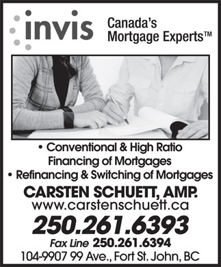Invis Financial Group (250-261-6393) - Display Ad