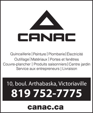 Canac (819-752-7775) - Display Ad