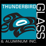 logo Thunderbird Glass &amp; Aluminum Inc